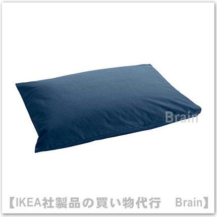 ULLVIDE:枕カバー50x60 cm(ダークブル...