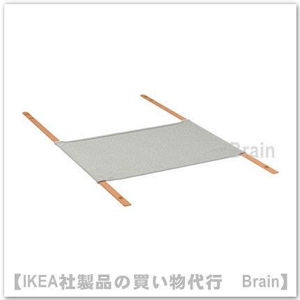 KALLAX:アクセサリー用ハンギングオーガナイザー56x36 cm(ライトグレー)