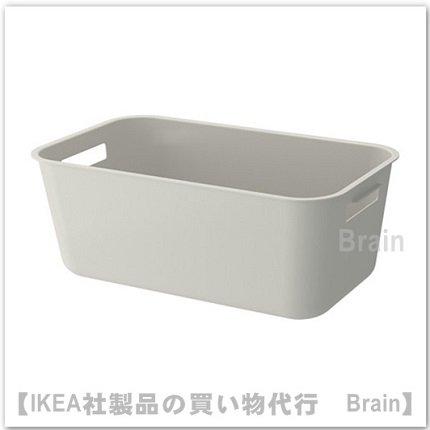 GRUNDVATTNET:食器洗い用ボウル39x23 cm(グレー)