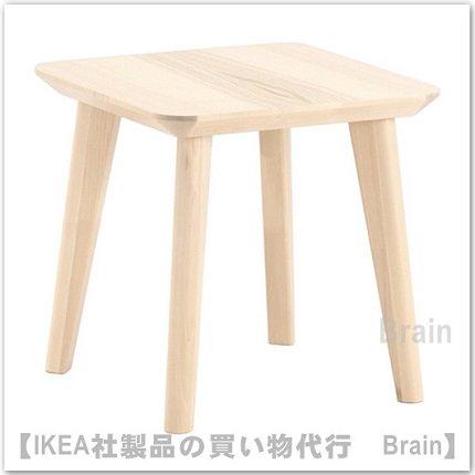 LISABO:サイドテーブル(アッシュ材突...