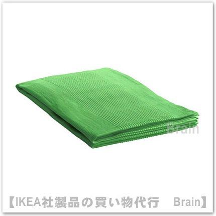 INDIRA:ベッドカバー(グリーン)【各サイズから選べます】
