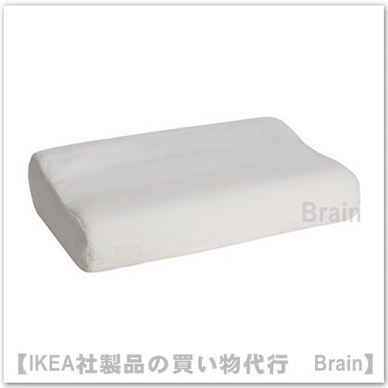 RÖLLEKA:枕カバー形状記憶フォーム枕用33x50 cm(ホワイト)