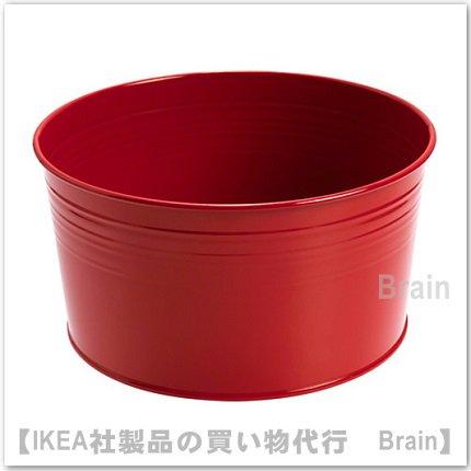 SOCKER:鉢カバー20 cm(レッド)