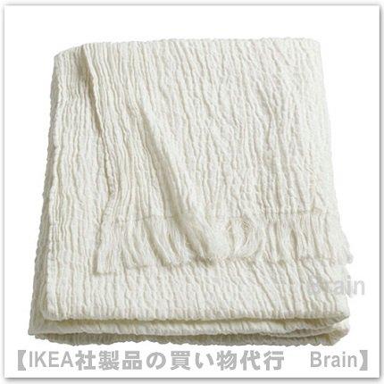 MATHEA:ひざ掛け120x180 cm(ホワイト)