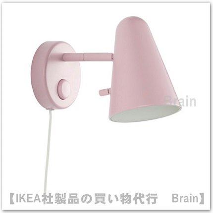 FUBBLA:ウォールランプ10×15 cm(ライトピンク)