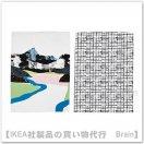 LACKTICKA:キッチンクロス50x70 cm(景色/マルチカラー)【2枚セット】