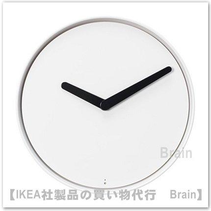 STOLPA:ウォールクロック32 cm(ホワイト)