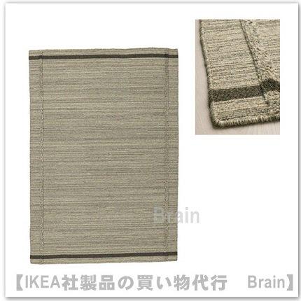 HÖJET:ラグ 平織り133x195 cm...