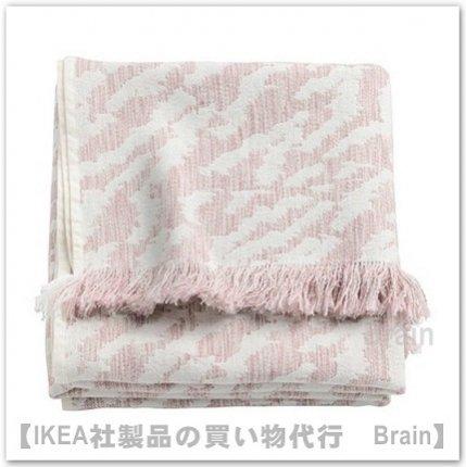 KAPASTER:ひざ掛け130x170 cm(オフホワイト/ピンク)