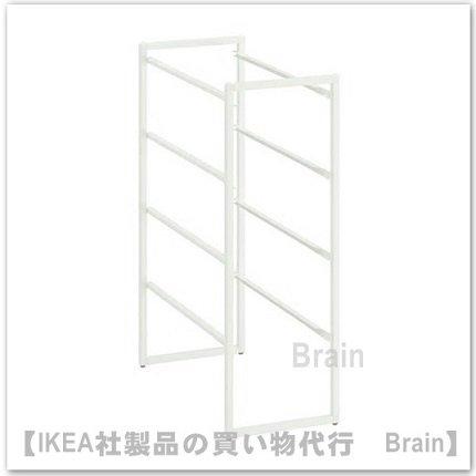 JONAXEL:フレーム25x51x70 cm(ホワイト)