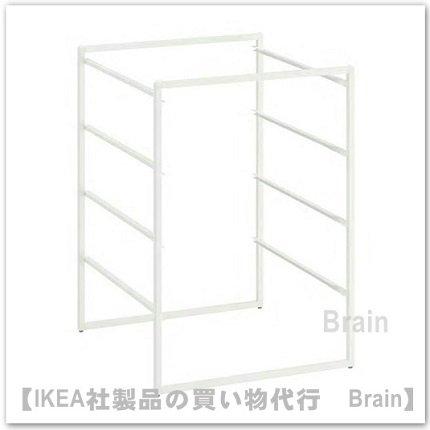 JONAXEL:フレーム50x51x70 cm(ホワイト)