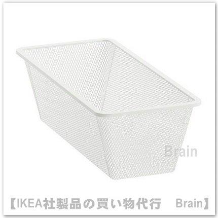 JONAXEL:メッシュバスケット25x51x15cm(ホワイト)