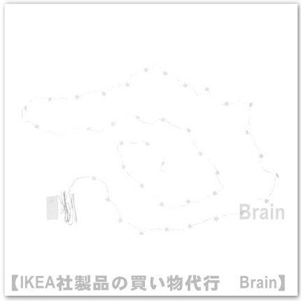 <img class='new_mark_img1' src='https://img.shop-pro.jp/img/new/icons8.gif' style='border:none;display:inline;margin:0px;padding:0px;width:auto;' />STRÅLA:LEDライトチェーン 全40球・ミニ 星/電池式(ホワイト)