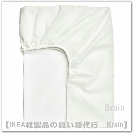 TAGGVALLMO:ボックスシーツ90x200 cm(ホワイト)