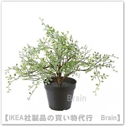 FEJKA:人工観葉植物31 cm( ワイヤープランツ)