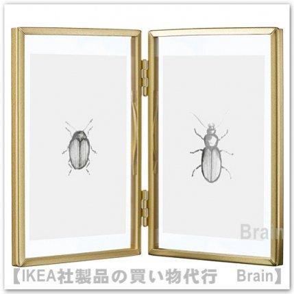 LERBODA/レルボダ:フレーム/11×15.5 cm(ゴールドカラー)