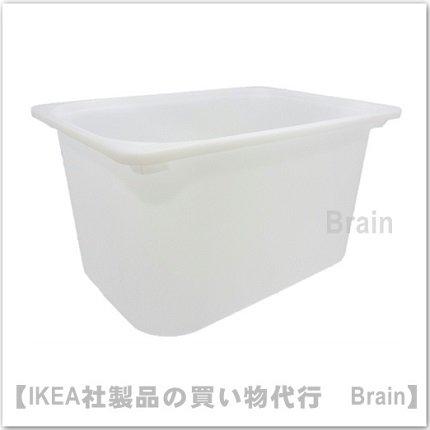 TROFAST:収納ボックス42x30x23 cm(ホワイト)