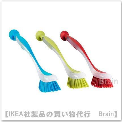 PLASTIS:食器洗いブラシ(アソートカラー)【カラーが選べます】