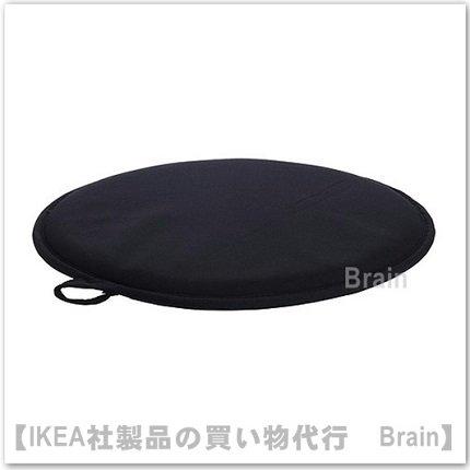CILLA:チェアパッド(ブラック)