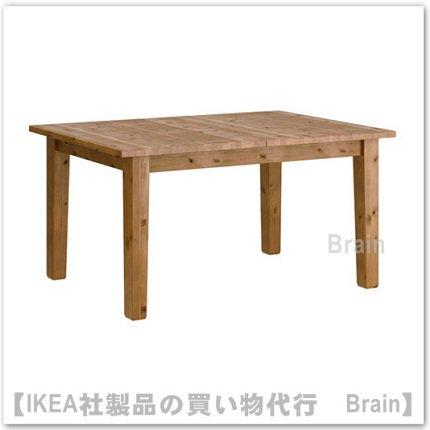 STORNÄS:伸長式テーブル【4~6人用】アンティークステイン