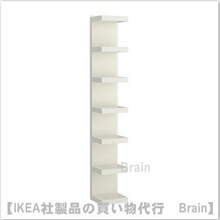 LACK:ウォールシェルフユニット30x190 cm(ホワイト)