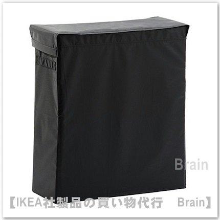 SKUBB:ランドリーバッグ スタンド付80 L(ブラック)