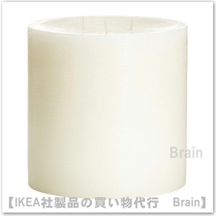 VILLIG:香り付きキャンドル 芯3本(ホワイト)