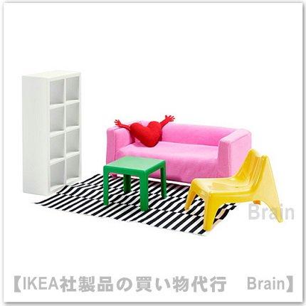 HUSET:ミニチュア家具 リビングルーム