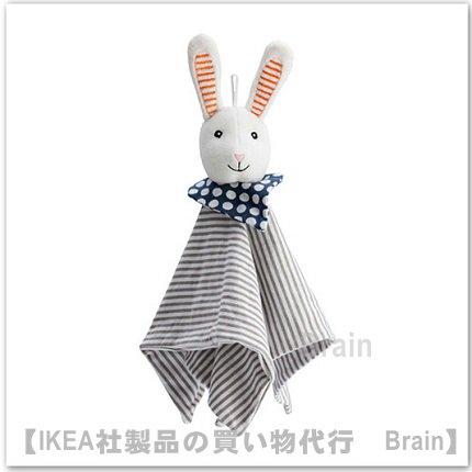 LEKA :ブランケット ソフトトイ付き30㎝(ウサギ)