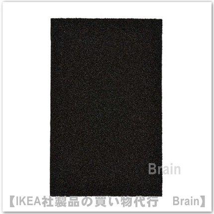 OPLEV :ドアマット50x80 cm(ブラック)
