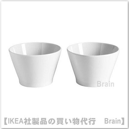 IKEA 365+ :ボウル10 cm(ホワイト)2個セット