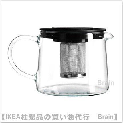 RIKLIG:ティーポット(ガラス)