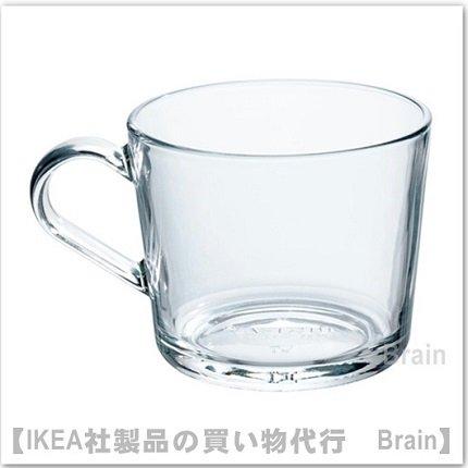 IKEA 365+ :マグ9 cm(クリアガラス)