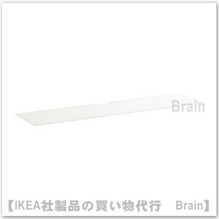 BEST&Aring:テレビ用トップパネル180×40cm(ガラス ホワイト)
