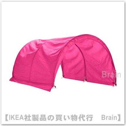 KURA:ベッドテント160 cm(ピンク)