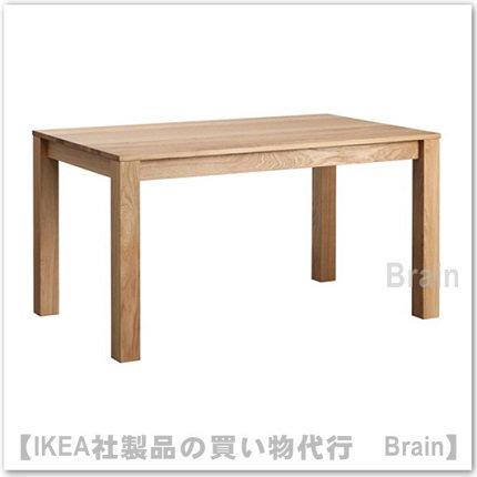 SJUHULT:ダイニングテーブル【6人用】オーク