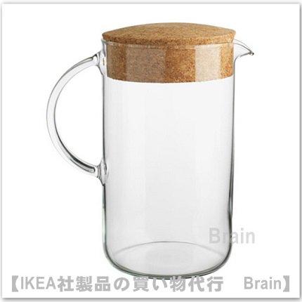 IKEA 365+ :水差し ふた付 21 cm