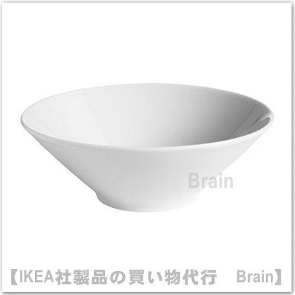 IKEA 365+ :深皿/ ボウル17 cm(ホワイト)