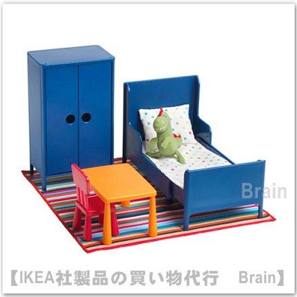 HUSET:ミニチュア家具 ベッドルーム