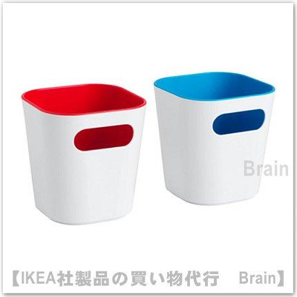 GESSAN:ボックス(レッド/ブルー)【2個セット】