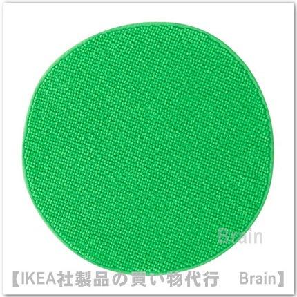 BADAREN:バスルームマット55 cm(グリーン)