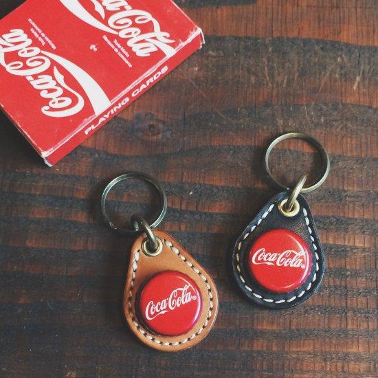 ボトルキャップキーリング / コカコーラ -メキシコ レッド(BOTTLE CAP KEY RING / COCA COLA -MEXICO RED)