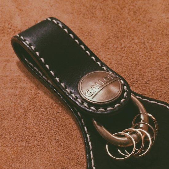 ファイブリングキーホルダー / ブラック(FIVE RING KEY HOLDER / BK)