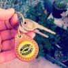 BEER BOTTLE CAP KEY RING / KONA YL(ビアボトルキャップキーリング / コナ イエロー)