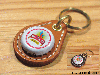 BEER BOTTLE CAP KEY RING / KINGFISHER(ビアボトルキャップキーリング / キングフィッシャー)