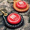 ボトルキャップキーリング / マオウビール(BOTTLE CAP KEY RING / Mahou Cinco Estrellas)