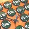 ウォールデコクロック / カールスバーグ(WALL DECOR CLOCK / Carlsberg) - 壁掛け時計