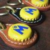 ビアボトルキャップキーリング / モリッツビール(BEER BOTTLE CAP KEY RING / MORITZ)