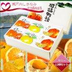 瀬戸内しまなみ柑橘物語 ゼリー12個セット(3種×各4個)