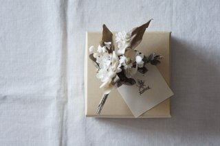 Bouquet Corsage / Withered natural flowers